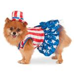 View Image 1 of Patriotic Pooch Dog Dress by Rubie's Costumes