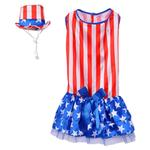 View Image 2 of Patriotic Pooch Dog Dress by Rubie's Costumes