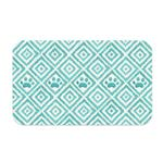 View Image 1 of Paw Ikat Pet Placemat by TarHong - Teal