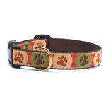 View Image 1 of Pawprints Dog Collar by Up Country
