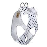 View Image 2 of Polka Dot Big Bow Step-In Dog Harness by Susan Lanci - Black & White
