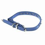 View Image 3 of Pearl & Crystal Safety Cat Collar - Baby Blue