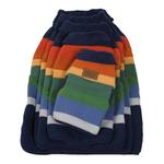 View Image 3 of Pendleton Crater Lake National Park Dog Coat - Navy Blue