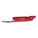 View Image 1 of Pendleton Pet Diamond River Dog Leash - Scarlet