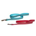 View Image 2 of Pendleton Pet Diamond River Dog Leash - Turquoise