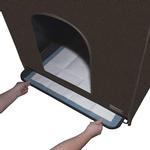 View Image 2 of Pet Gear Pro Pawty Indoor Dog Potty - Espresso