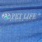 View Image 8 of Pet Life ACTIVE 'Aero-Pawlse' Performance Dog Tank Top - Blue