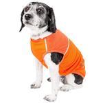 View Image 2 of Pet Life ACTIVE 'Aero-Pawlse' Performance Dog Tank Top - Orange