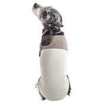 View Image 2 of Pet Life ACTIVE 'Aero-Pawlse' Performance Dog Tank Top - Tan and Brown