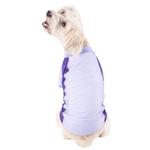 View Image 2 of Pet Life ACTIVE 'Barko Pawlo' Performance Dog Polo - Lavender