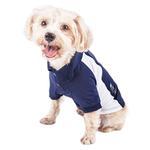 View Image 3 of Pet Life ACTIVE 'Barko Pawlo' Performance Dog Polo - Navy and White