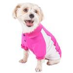 View Image 3 of Pet Life ACTIVE 'Barko Pawlo' Performance Dog Polo - Pink