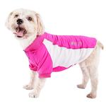 View Image 1 of Pet Life ACTIVE 'Barko Pawlo' Performance Dog Polo - Pink