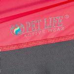 View Image 7 of Pet Life ACTIVE 'Barko Pawlo' Performance Dog Polo - Salmon Red and Gray