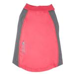 View Image 4 of Pet Life ACTIVE 'Barko Pawlo' Performance Dog Polo - Salmon Red and Gray