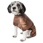 View Image 2 of Pet Life ACTIVE 'Chase Pacer' Performance Full Body Dog Warm Up - Brown