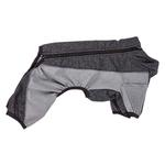 View Image 4 of Pet Life ACTIVE 'Chase Pacer' Performance Full Body Dog Warm Up - Charcoal Gray