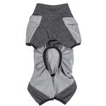 View Image 5 of Pet Life ACTIVE 'Chase Pacer' Performance Full Body Dog Warm Up - Charcoal Gray