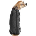 View Image 3 of Pet Life ACTIVE 'Chase Pacer' Performance Full Body Dog Warm Up - Charcoal Gray