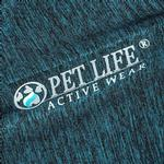 View Image 7 of Pet Life ACTIVE 'Chewitt Wagassy' Performance Long Sleeve Dog T-Shirt- Teal