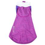 View Image 5 of Pet Life ACTIVE 'Chewitt Wagassy' Performance Long Sleeve Dog T-Shirt- Lavender