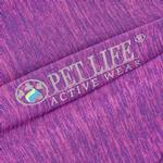 View Image 7 of Pet Life ACTIVE 'Chewitt Wagassy' Performance Long Sleeve Dog T-Shirt- Lavender