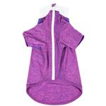 View Image 4 of Pet Life ACTIVE 'Chewitt Wagassy' Performance Long Sleeve Dog T-Shirt- Lavender