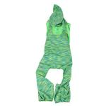 View Image 4 of Pet Life ACTIVE 'Downward Dog' Performance Full Body Warm-Up Dog Hoodie - Green