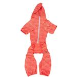 View Image 5 of Pet Life ACTIVE 'Downward Dog' Performance Full Body Warm-Up Dog Hoodie - Orange