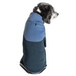 View Image 2 of Pet Life ACTIVE 'Embarker' Performance Full-Body Dog Warm Up Suit - Teal and Blue