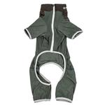 View Image 5 of Pet Life ACTIVE 'Embarker' Performance Full-Body Dog Warm Up Suit - Hunter Green