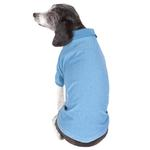 View Image 3 of Pet Life ACTIVE 'Fur-Flexed' Performance Dog Polo - Blue