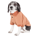 View Image 3 of Pet Life ACTIVE 'Fur-Flexed' Performance Dog Polo - Peach