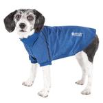 View Image 1 of Pet Life ACTIVE 'Fur-Flexed' Performance Dog Polo - Navy