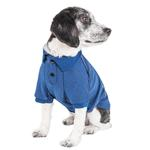 View Image 3 of Pet Life ACTIVE 'Fur-Flexed' Performance Dog Polo - Navy