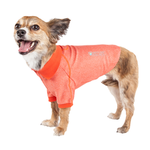 View Image 3 of Pet Life ACTIVE 'Fur-Flexed' Performance Dog Polo - Orange