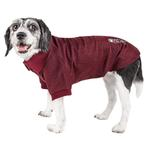 View Image 1 of Pet Life ACTIVE 'Fur-Flexed' Performance Dog Polo - Burgundy