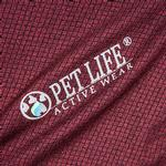 View Image 6 of Pet Life ACTIVE 'Fur-Flexed' Performance Dog Polo - Burgundy