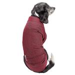 View Image 2 of Pet Life ACTIVE 'Fur-Flexed' Performance Dog Polo - Burgundy