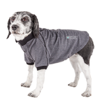 View Image 1 of Pet Life ACTIVE 'Fur-Flexed' Performance Dog Polo - Gray