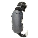 View Image 2 of Pet Life ACTIVE 'Fur-Flexed' Performance Dog Polo - Gray