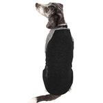 View Image 3 of Pet Life ACTIVE 'Hybreed' Two-Toned Performance Dog T-Shirt - Black and Gray