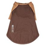 View Image 3 of Pet Life ACTIVE 'Hybreed' Two-Toned Performance Dog T-Shirt - Brown
