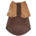 View Image 4 of Pet Life ACTIVE 'Hybreed' Two-Toned Performance Dog T-Shirt - Brown