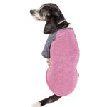 View Image 3 of Pet Life ACTIVE 'Hybreed' Two-Toned Performance Dog T-Shirt - Pink and Navy