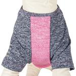 View Image 4 of Pet Life ACTIVE 'Hybreed' Two-Toned Performance Dog T-Shirt - Pink and Navy