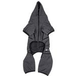 View Image 6 of Pet Life ACTIVE 'Pawsterity' Performance Dog Hoodie Jumpsuit - Black