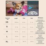 View Image 7 of Pet Life ACTIVE 'Pawsterity' Peformance Dog Hoodie Jumpsuit - Orange