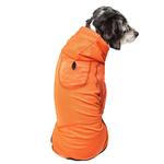 View Image 3 of Pet Life ACTIVE 'Pawsterity' Peformance Dog Hoodie Jumpsuit - Orange