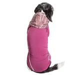 View Image 3 of Pet Life ACTIVE 'Pull-Rover' Performance Sleeveless Dog Hoodie - Maroon